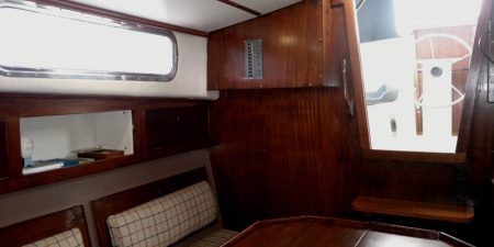 Macwester Malin 32, Main Cabin, Season 2012
