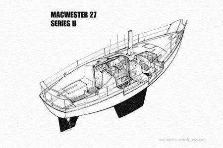 Macwester 27 Mk II layout