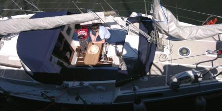 Macwester 32 cockpit