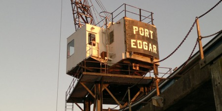 Port Edgar Crane