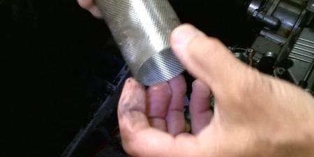 Salt water filter