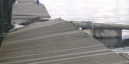 Port Edgar pontoon failure