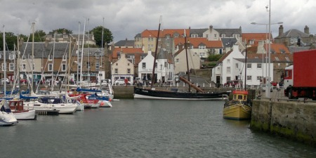 Marina at Anstruther
