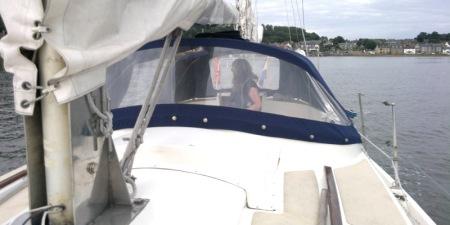 Macwester Malin setting sail