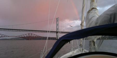 Forth Bridges Rainbow