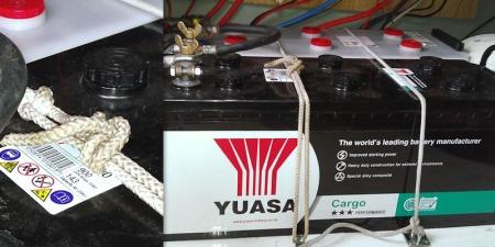 Yuasa Cargo battery