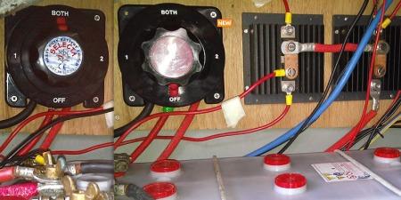 heavy duty battery isolator switch