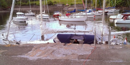 Macwester Malin ketch Aberdour Harbour
