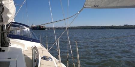 Macwester Malin sailing Genoa