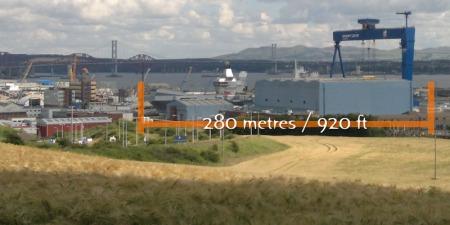 HMS Queen Elizabeth dry dock Rosyth