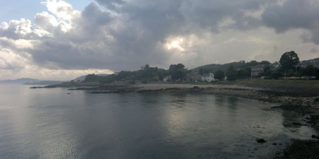 Aberdour looking west