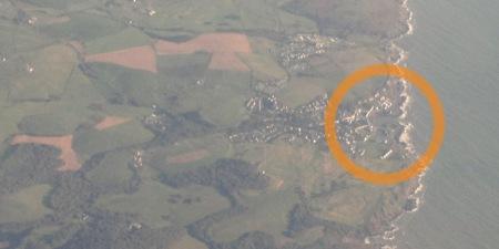 Portpatrick aerial