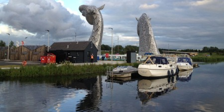 Macwester Malin mast down Kelpies