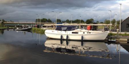 Macwester Malin mast down Kelpie basin
