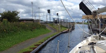Leaving River Carron