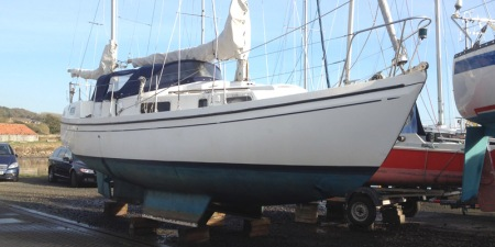 Macwester Malin hull cleaned